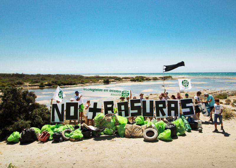 Recogida de Basuras_EnA -Almería-
